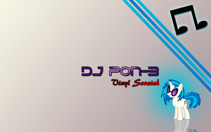 DJ Pon-3 wallpaper by Fennrick