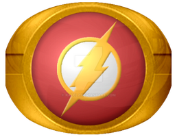 Flash Costume ring test 1 by KalEl7