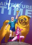 Adventure Time BADASS by Tohad