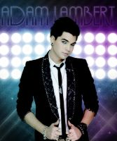 Adam Lambert - Glam Lights II by SprockBoy