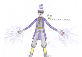 Ringmaster COLORED A by EclecticWhiteRaven
