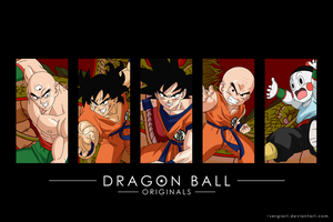 Dragon Ball Originals by SergiART