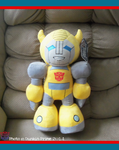 .: BumbleBee Plush :. by Dunkin-Prime