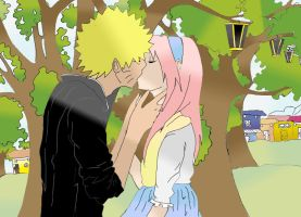 Narusaku Just a dream by monaluh1