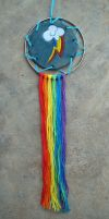 Rainbow Dash Dream Catcher by RebelATS