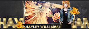 Hayley Williams Bill board by xelagfx
