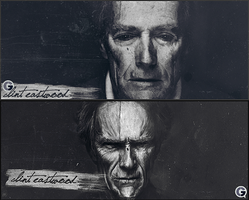 27. Clint Eastwood by J1897