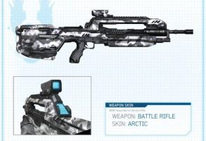 Halo 4 | Battle Rifle Artic Skin By 343 Industries by Goyo-Noble-141