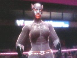 Double X-Pac: New Animated Catwoman by TheRumbleRoseNetwork
