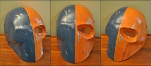 Custom 'Deathstroke the Terminator' Mask by Mace-X