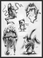 Creature Requests by McFlyky