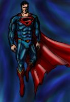Superman concept art  by Yutha313