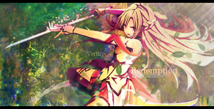 Sword Art Online Signature (Asuna) by Vertify