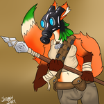Wasteland Fox by ShrapnelShark