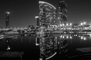 Reflections: Festival Marina by kazimkirmani