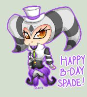 Happy B-Day Spade by SabrinaNightmaren