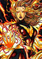Dark Phoenix Commission Again by DKuang