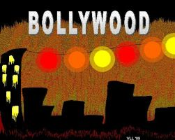 Bollywood Backdrop by UtterPsychosis