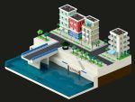 Lowpoly City by gendosplace