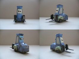 Cars-Diego Papercraft by savaskul