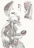 Nero's Werewolf Form by Xaisen