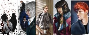 Male OCs compilation by Nazonaro
