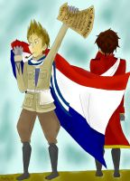 Netherland's Freedom by SandStar72