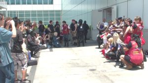 Resident Evil Gathering at Anime Expo 2013 by trivto