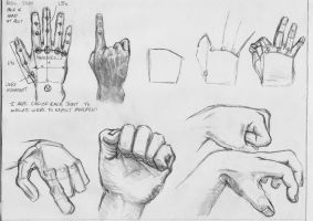 Human hand tutorial by grimdrifter