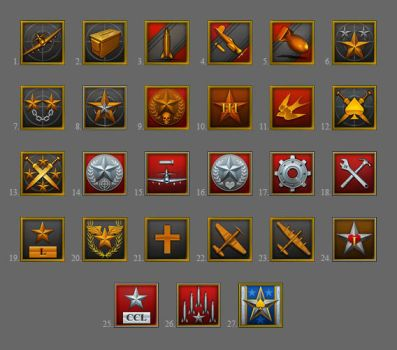 Achievement Icons by TheStylusMonkey