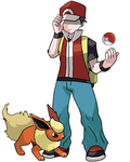 Pokemon Trainer Red by TomA62975