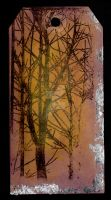 Frosty Autumn Tree Tag by Harrisons-Forge