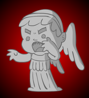 Weeping Angel by stu-toons