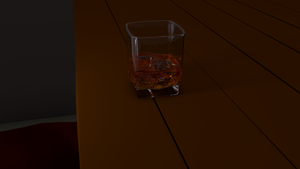 3D 001 - Whiskey by scorpinoc