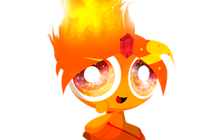 Puffed Flame Princess by xXBloody-MagicXx
