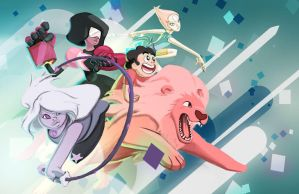 The Crystal Gems by MGabric