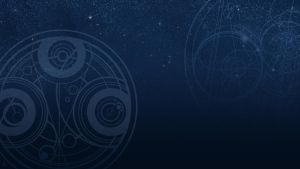 Blue space with Gallifreian by Aerindarkwater
