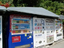 More Japanese Vending Machines by midori711c