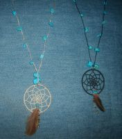 Necklaces by W0IfDreamer