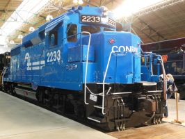 Conrail GP30 No. 2233 by rlkitterman