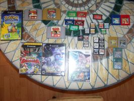 My Pokemon Game Collection... WIP by RamenWolf1485