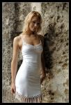 Samantha - white dress 1 by wildplaces