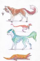 Point Adopts, Various species. Still Open! by barish-ki-boond