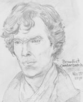 Benedict Cumberbatch by nev777