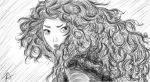 Merida Sketch by sazame-kusaka