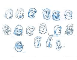 expression sheet t1 by Yenga