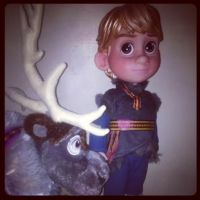 Kristoff and Sven by inthisabyss