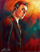 Tom Hiddleston by Mariana-S