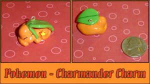 Pokemon - Charmander Charm by YellerCrakka