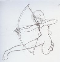 Archery Girl by Lilyoftheflames